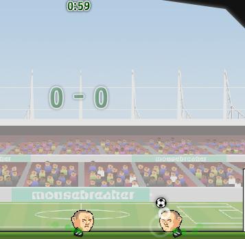 Игра Футбол головой 2 игрока - Игры для мальчиков
